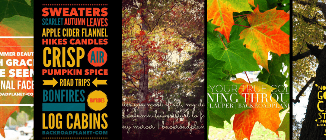 Original Travel Quote Memes #3: Autumn