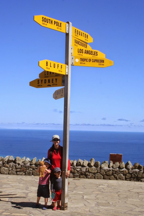 Cape Reinga, northernmost point of the North Island