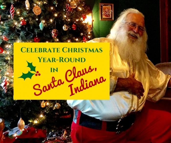 Where To Buy Christmas Decorations Year Round: Celebrate Christmas Year Round In Santa Claus, Indiana
