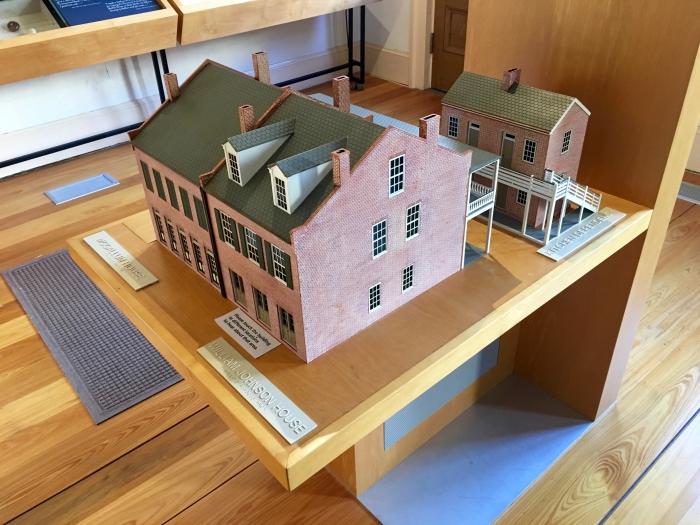 William Johnson House NPS Natchez Mississippi Model