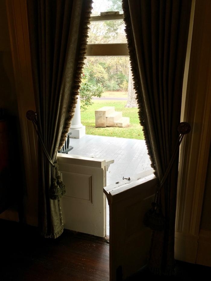 The Linden Bed and Breakfast Natchez Mississippi Window Door