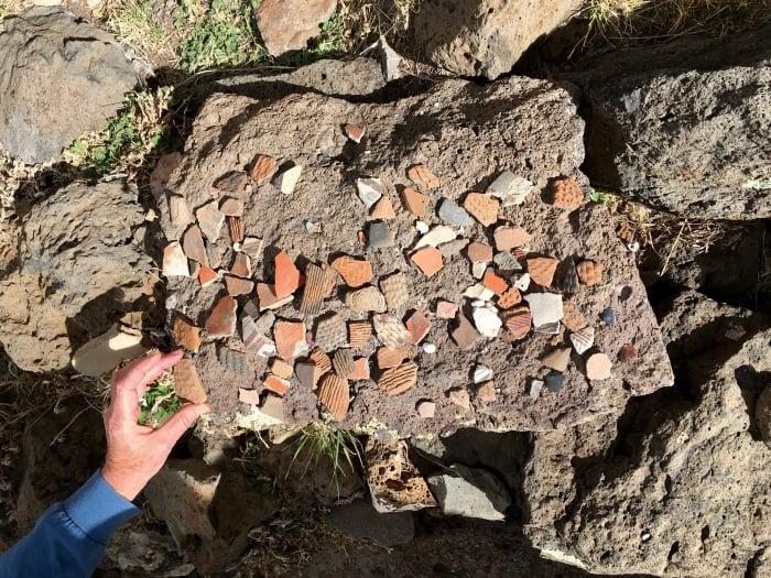 Casa Malpais Arizona Pottery Fragments