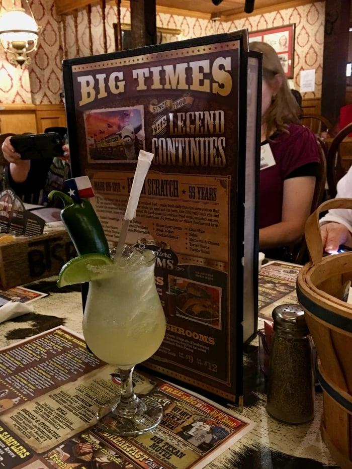Big Texan Amarillo Texas Margarita