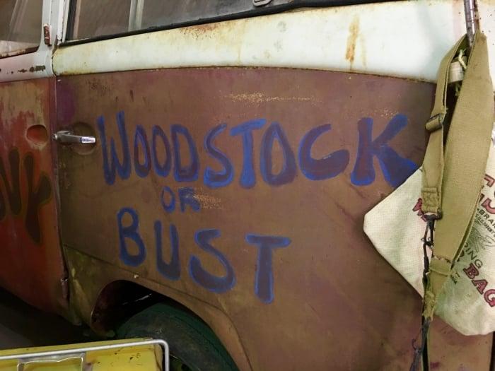 VW Van Woodstock or Bust