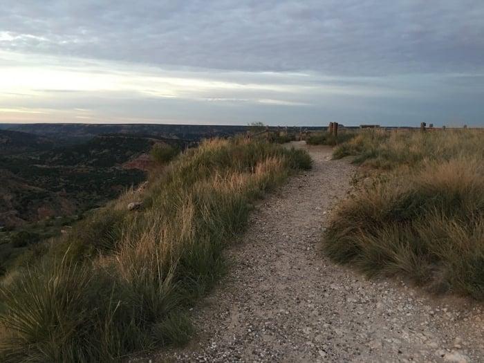 Palo Duro Canyon Texas Trail