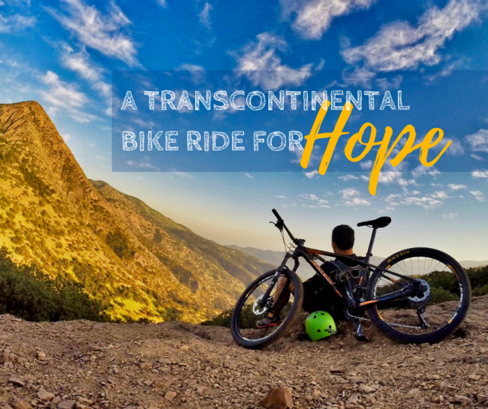 Adrian Marziliano's Transcontinental Bike Ride for Hope