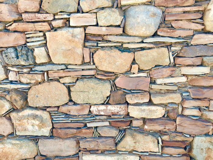 KInishba Ruins National Historic Landmark Arizona Stones