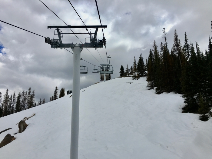 Sunrise Ski Resort Chair Lift
