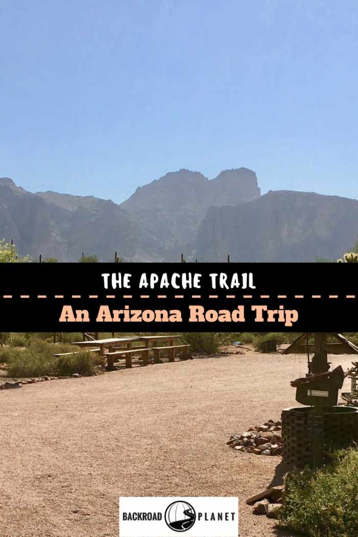 Take a drive through the Superstition Mountains on the Arizona Apache Trail with stops at Goldfield Ghost Town, Tortilla Flat, and the Dolly Steamboat.