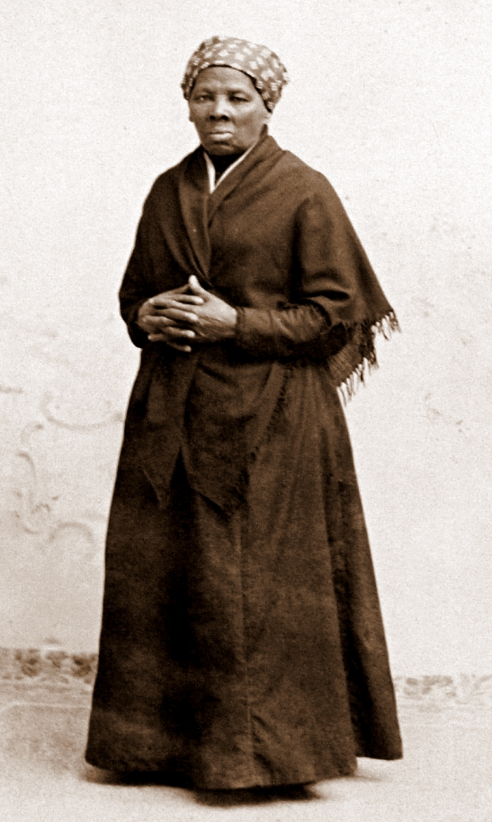 Harriet Tubman by Squyer NPG c1885 - Drive the Maryland Harriet Tubman Underground Railroad Byway