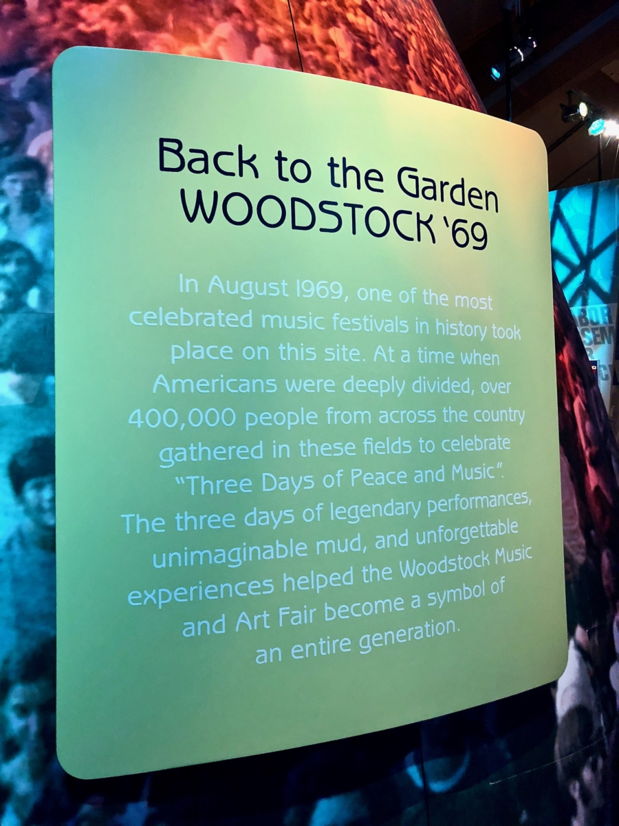 IMG 4475 - Retaking Woodstock: The Museum at Bethel Woods
