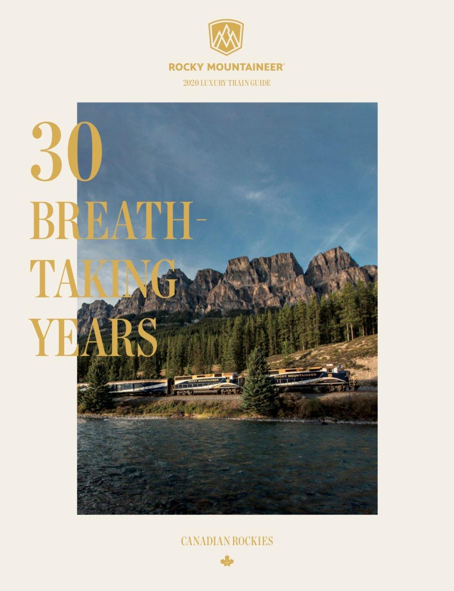 2020 Rocky Mountaineer Train Brochure