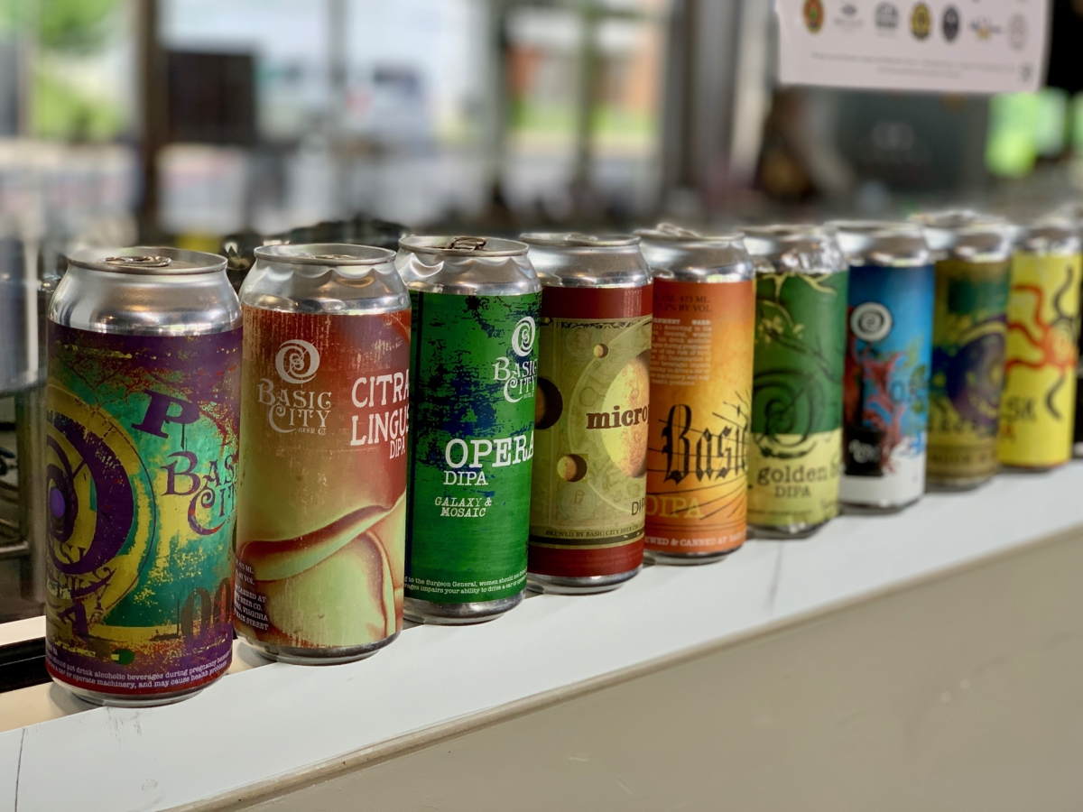 Basic City Beer Cans