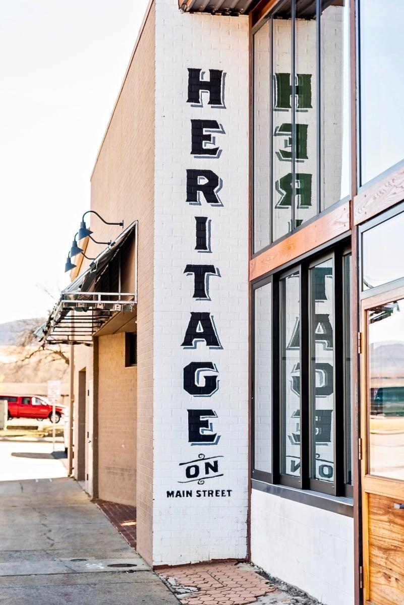 Popular Restaurants in Waynesboro Virginia: Heritage on Main Street