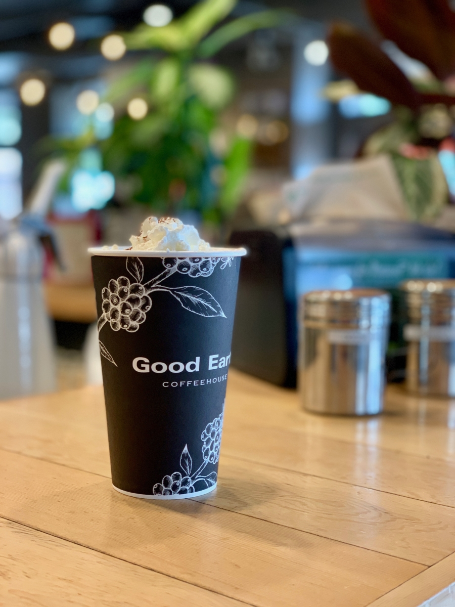 Good Earth Coffeehouse Hot Chocolate Banff