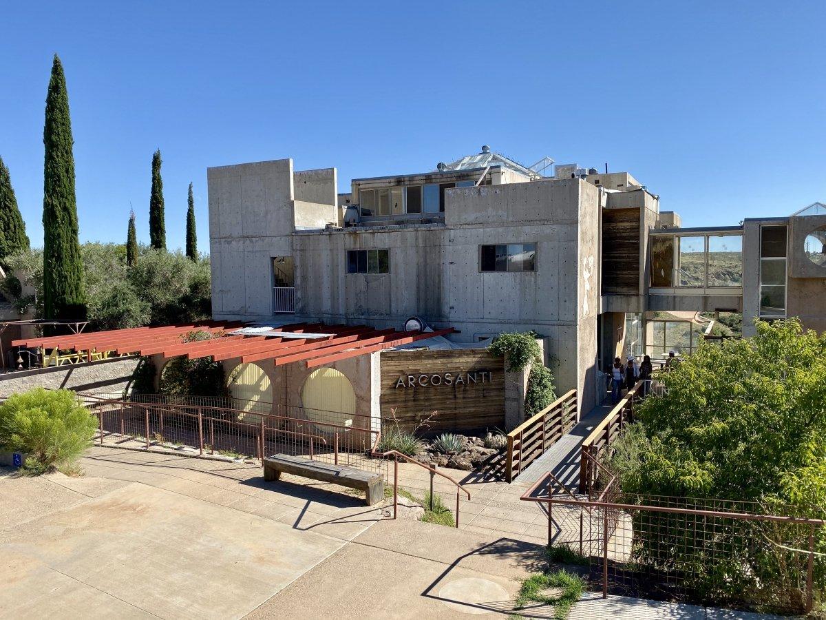 Arcosanti - Things to Do on a Drive from Phoenix to Flagstaff, Arizona