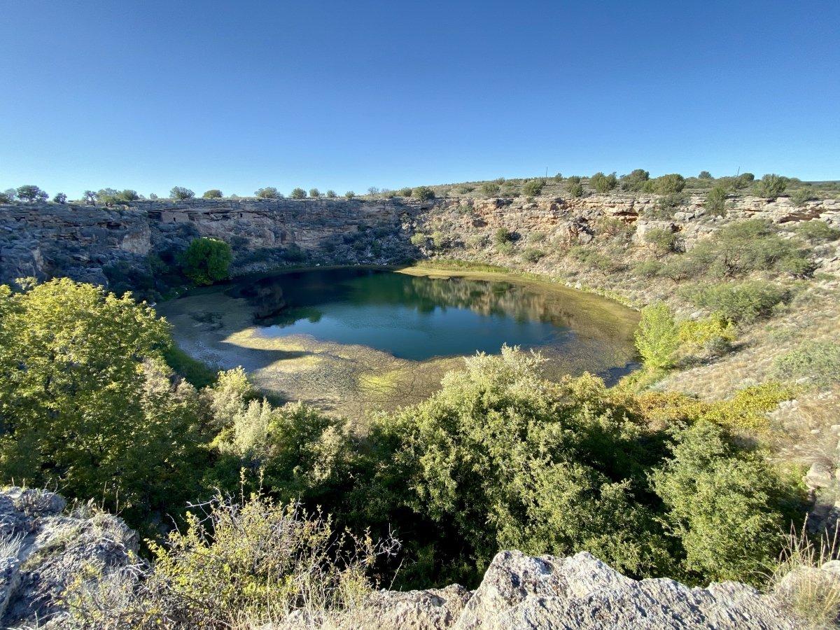 Montezuma Well - Things to Do on a Drive from Phoenix to Flagstaff, Arizona