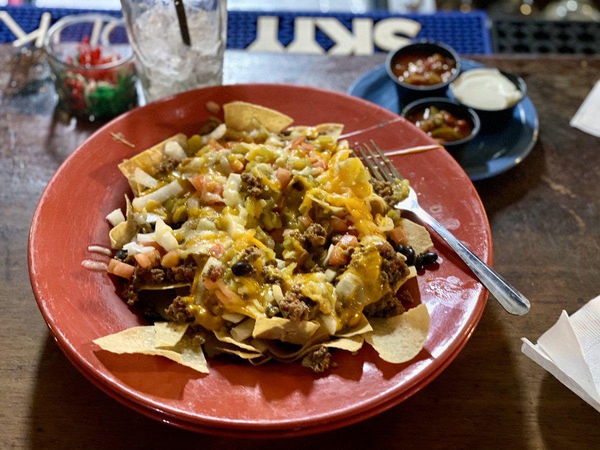Rock Springs Cafe nachos Arizona