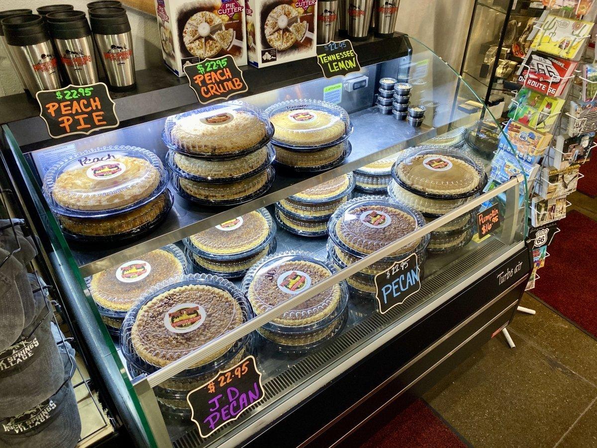 Rock Springs Cafe pies Arizona