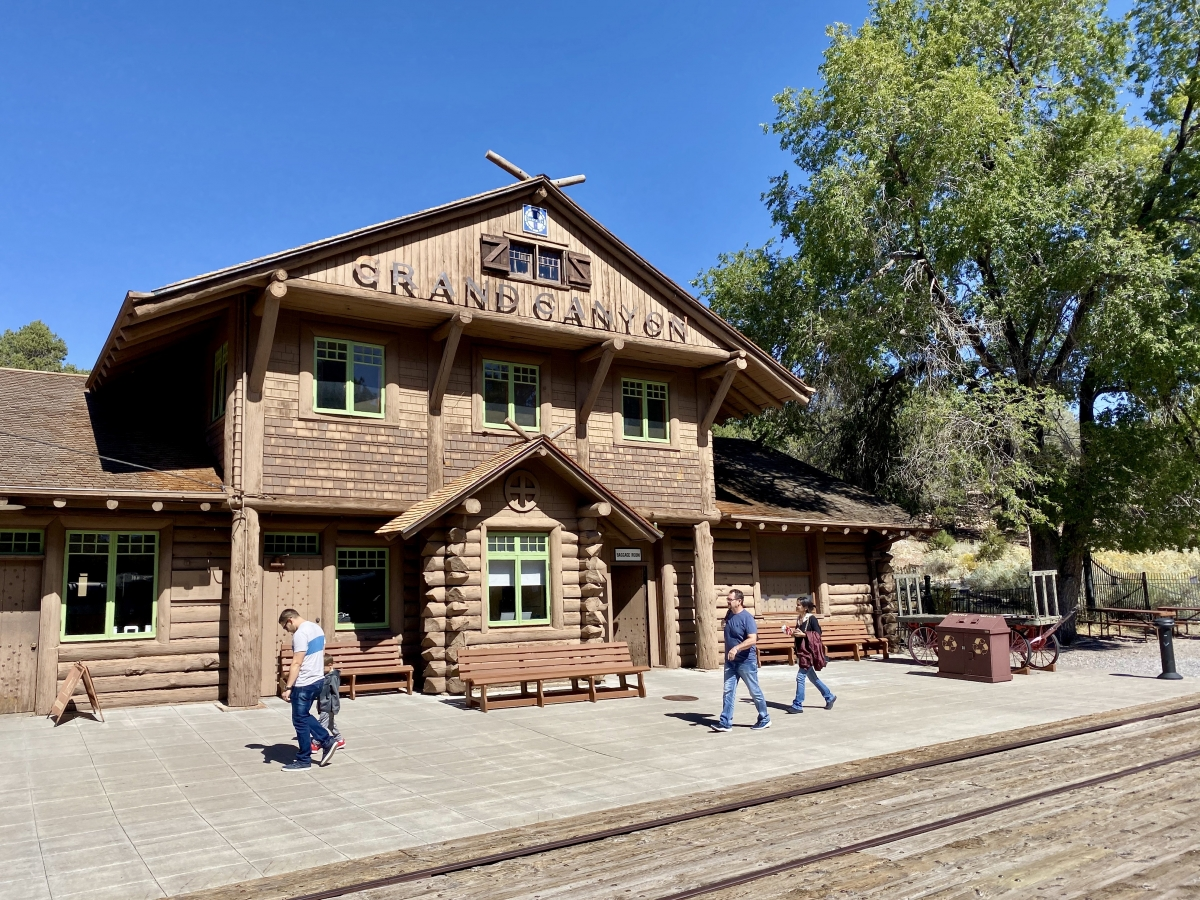 Grand Canyon Depot - Take the Train to Grand Canyon National Park: An Insider's Guide