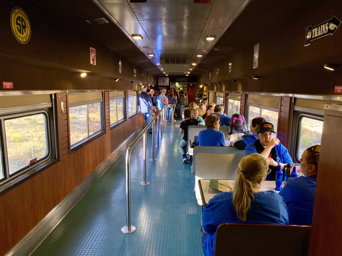Grand Canyon Railway Cafe Car - Take the Train to Grand Canyon National Park: An Insider's Guide