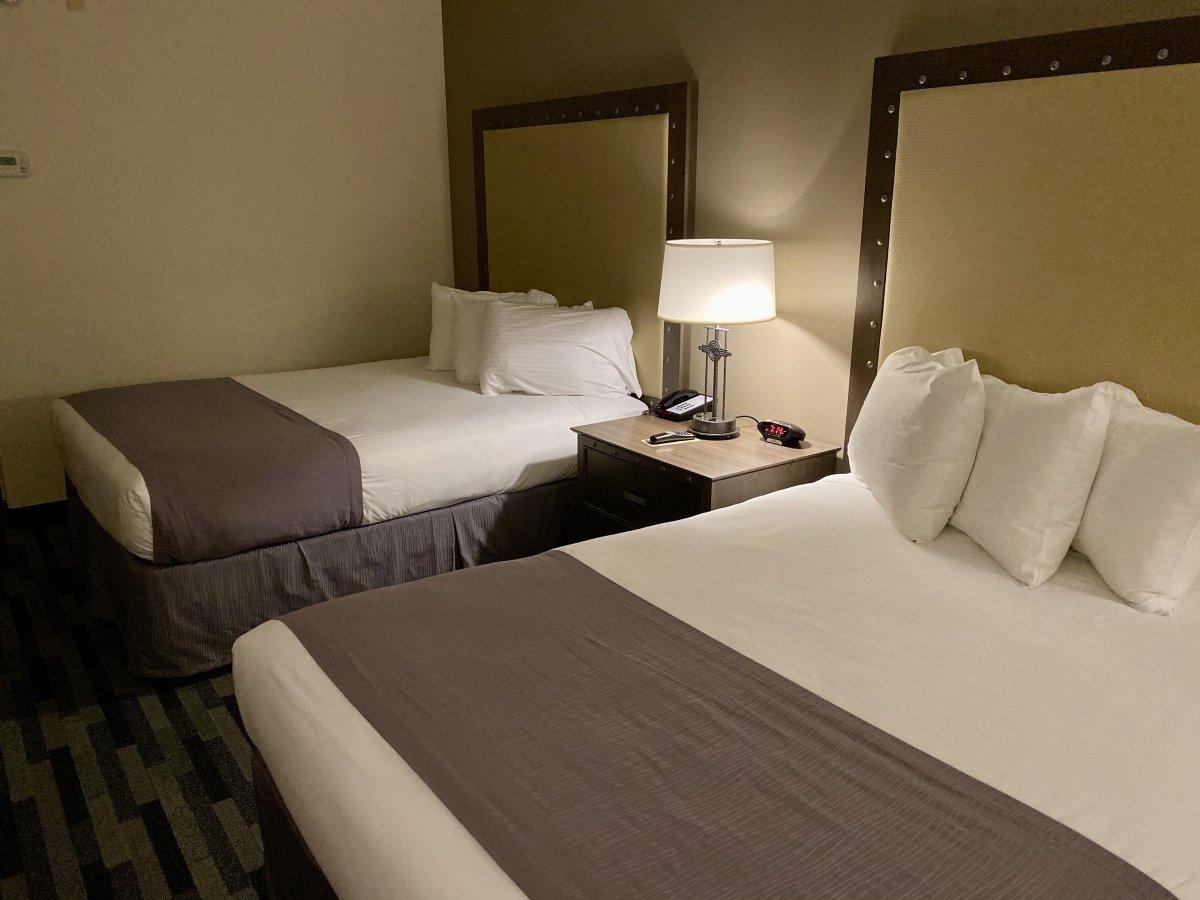 Grand Canyon Railway Hotel room
