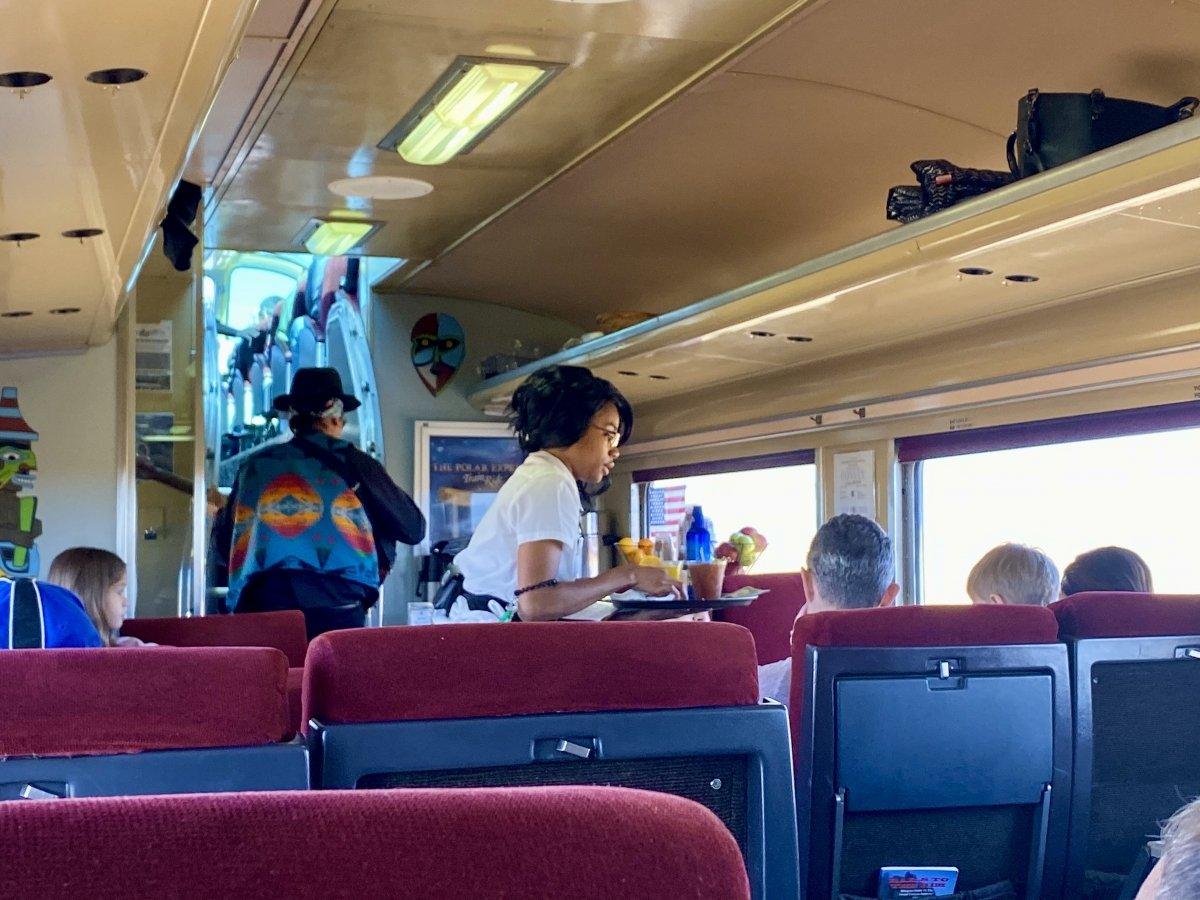 Grand Canyon Railway passenger service attendant