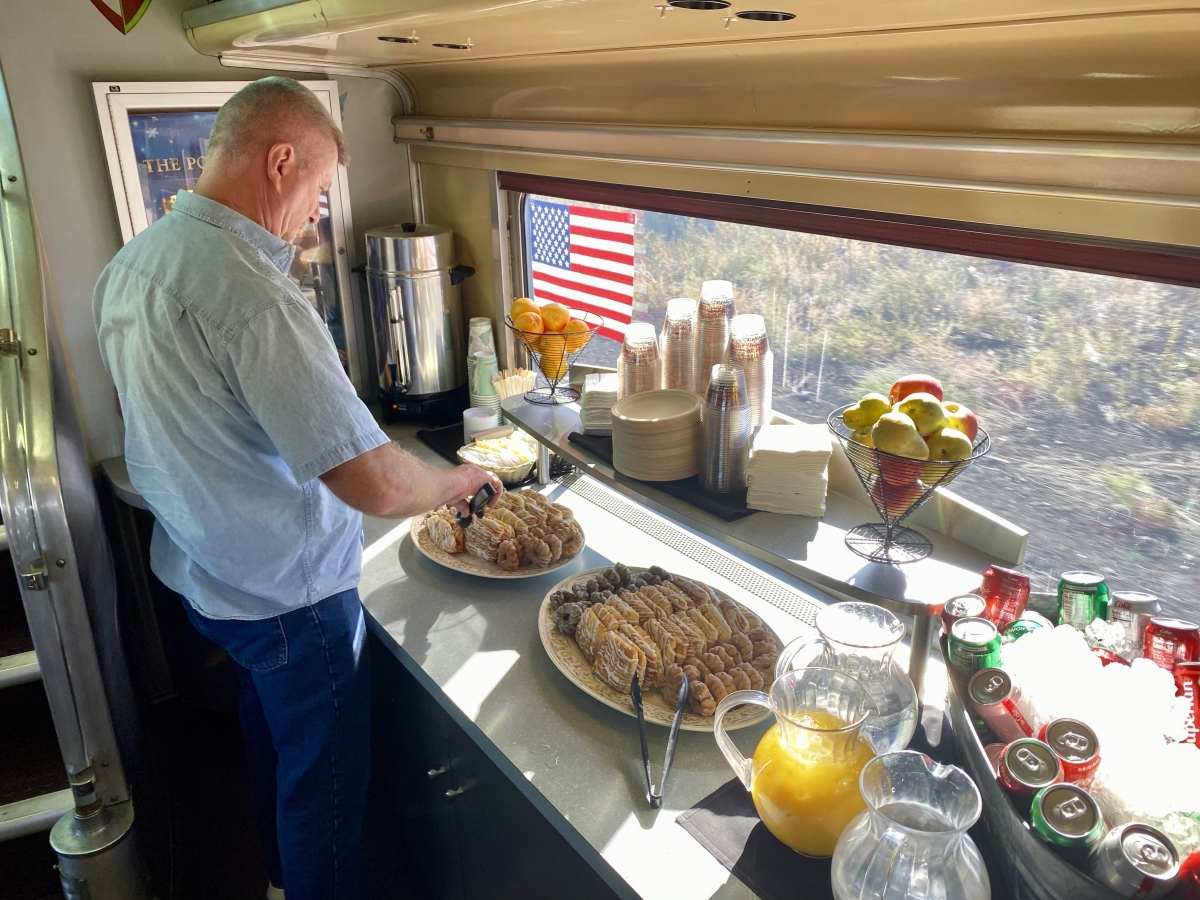 Grand Canyon Railway breakfast - Take the Train to Grand Canyon National Park: An Insider's Guide