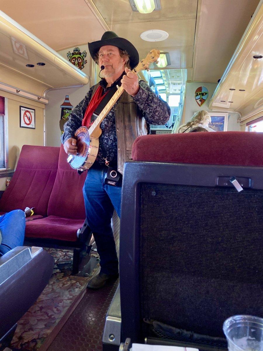 Grand Canyon Railway entertainer