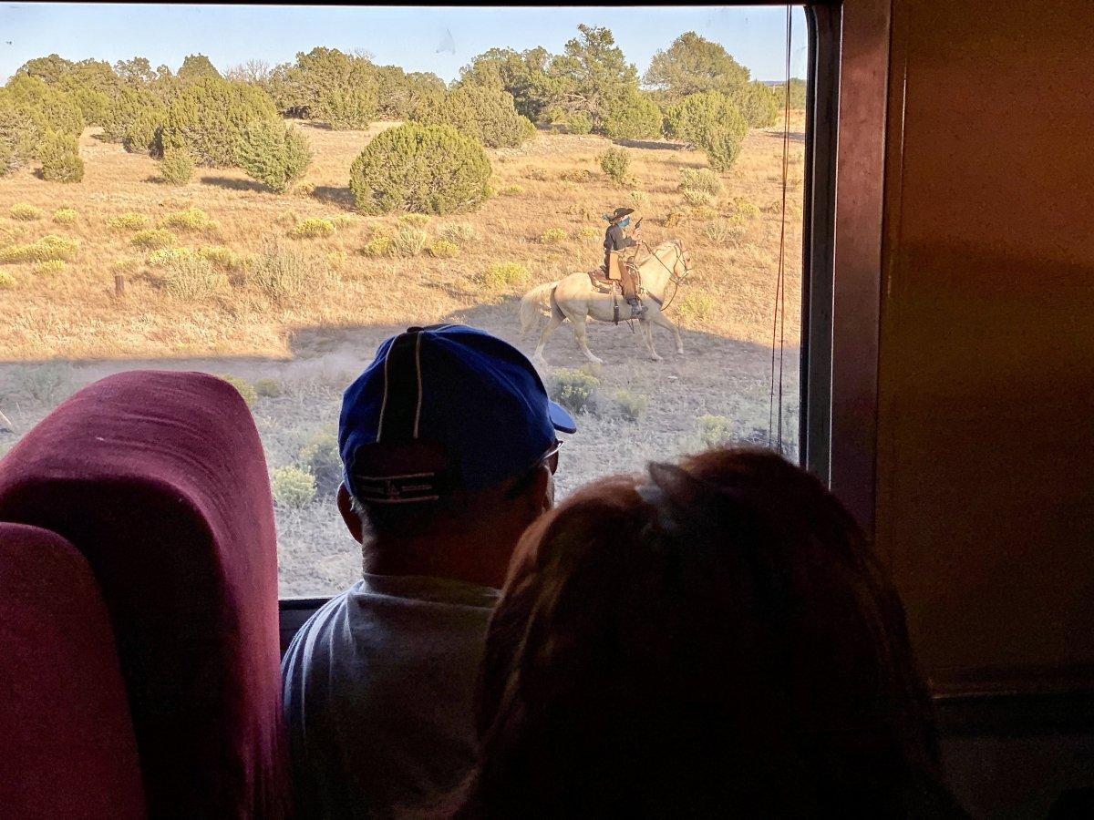 Grand Canyon Railway holdup