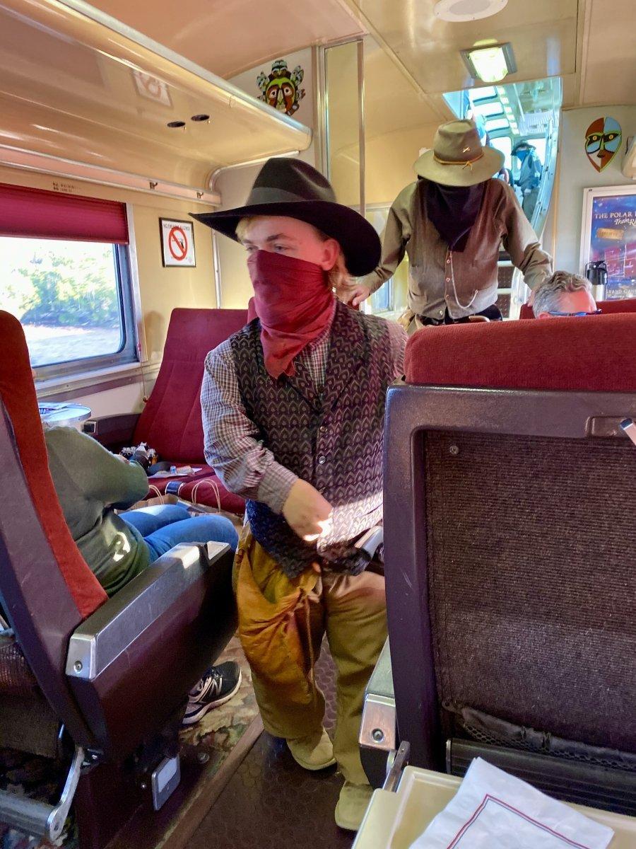 Grand Canyon Railway train robbery