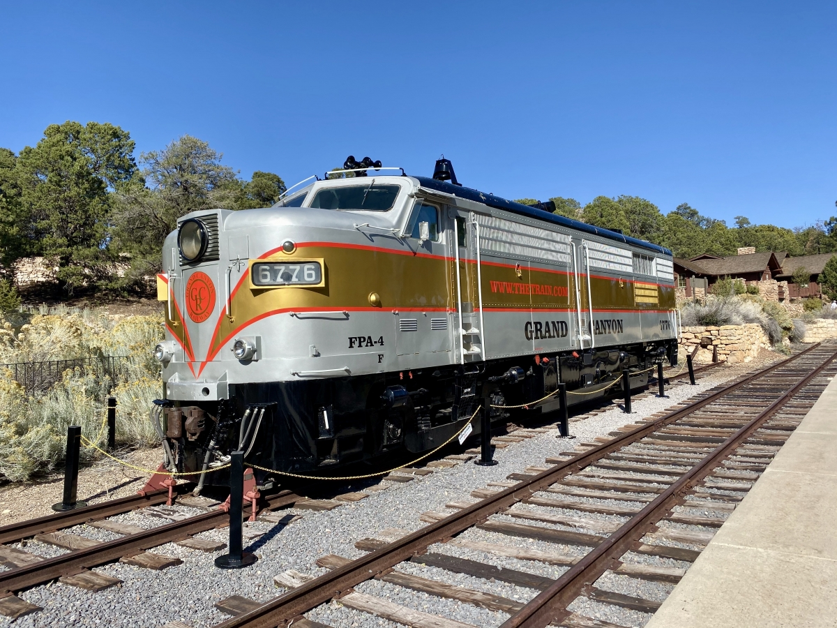 Grand Canyon Railway vintage engine - Take the Train to Grand Canyon National Park: An Insider's Guide