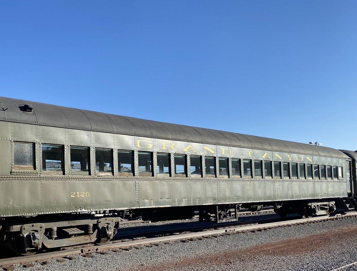 Grand Canyon Railway vintage railcar
