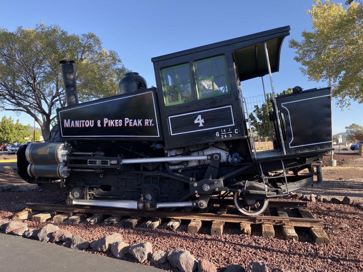 Manitou Pikes Peak steam engine