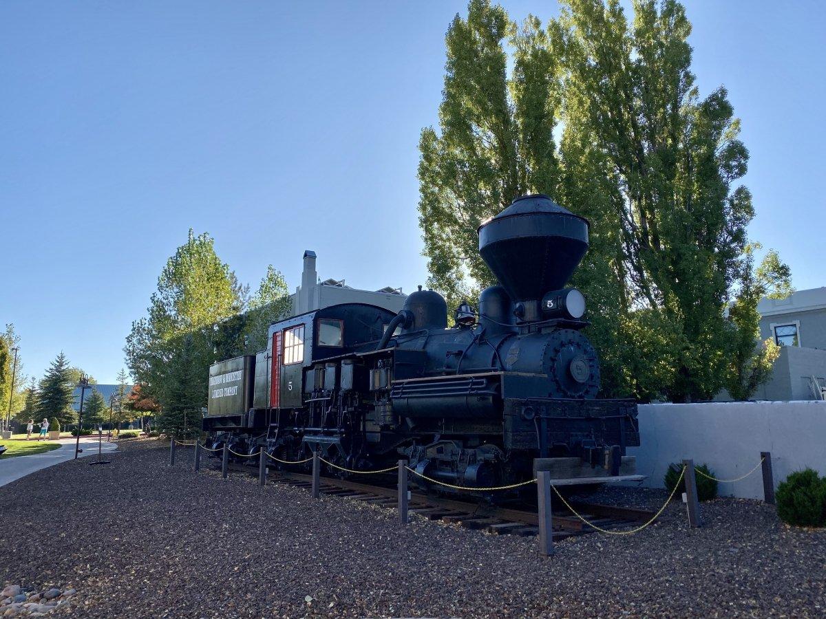 Shay No. 5 locomotive