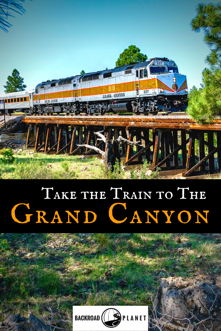 Train to Grand Canyon Pinterest - Take the Train to Grand Canyon National Park: An Insider's Guide