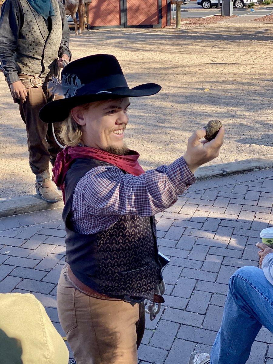 Grand Canyon Railway Wild West Show Cowboy