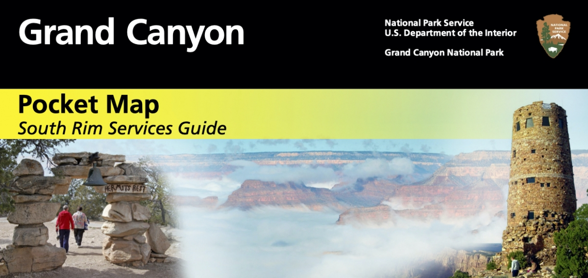 sr pocket map - Take the Train to Grand Canyon National Park: An Insider's Guide